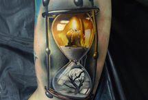 Hourglass & dia de los muertes