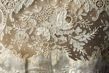 lace and linens / by Ruth Krakosky