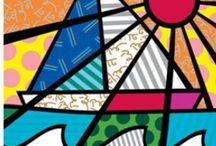 kumaş vitray desenler