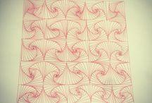 Doodling Zentangle / Mindful drawings
