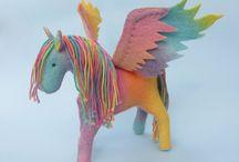 Horse + unicorn