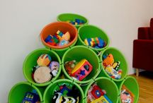 Toy Storage / by Sherri Sylvester