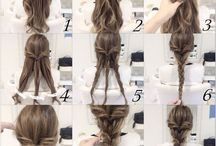 Hairstyle tutorials