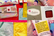 Ipsy Glam Bag / Beauty, cosmetics, skincare, hair care products