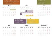Urlaubsplanung 2016 / Wer in 2016 seine Urlaubstage geschickt einsetzt, kann viele freie Tage am Stück ernten.