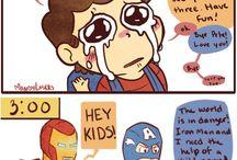 aw yeah! Superheros