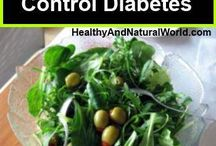 Diabetes / Foods that help control diabetes.