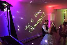 Stunning Wedding Uplighting