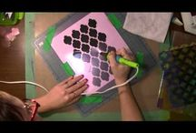 How to make own embossing folders