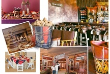 """Entertaining - Western Dinner Party / Old West """"Murder Mystery"""" dinner party."""