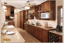 Western Themed Country Home - Showplace Cabinets / Pendleton RSP Door Style
