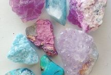 Rock's, crystals and minerals