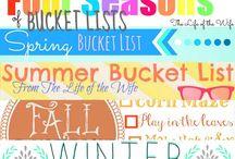 My Bucket List Ideas