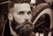 Barbas, bigotes y cortes de pelo / Dar una idea de los tipos de barbas y cortes adecuados para un hombre para facilitar escoger un estilo propio