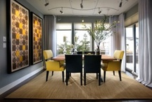 Nesting the Living and Dinning Rooms / by Eve-Marie Rodrigues