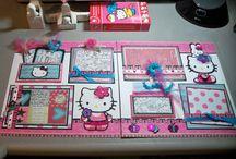 Hello Kitty party ideas / Cricut crafts