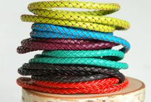 Triple Wrap Leather Bracelets NEW at Gibsons Landing today.