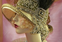 Cover ups / Hats, scarves, fascinators and all manner of head adornments / by Peri Collins