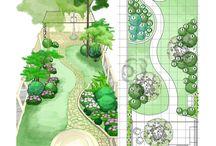 Narrow garden ideas