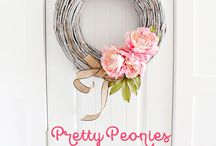 Spring Decor Ideas / Decorating ideas for the Spring months, March, April and May.