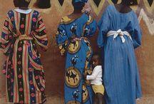 Traje Tradicional Africana