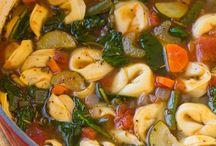 Soups / Various soups