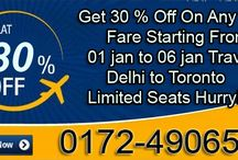 Delhi To Toronto Flight