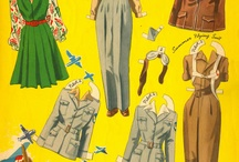Pilot paper dolls and other things
