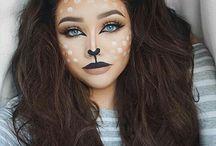 maquillajes carnaval/halloween...