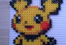 Strijkralen pikachu sem