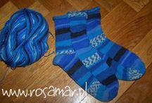 My knitting machine / About my knitting on hand operated, single bed knitting machine - MODA