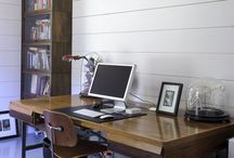 Home Style: Workspaces / Does an eclectic, beautiful desk scene inspire you? Me too. The workspaces deserve their own board.