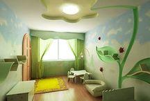 Girly bedroom ideas / by Alisha Minnick