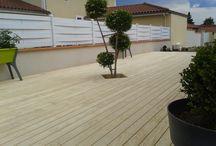 Terrasse en bois_Le bois nouvelle génération garanti 50 ans : c'est l'Accoya / Un bois aux teintes claires, durable et parfait pour une utilisation en terrasse... L'Accoya est une essence de bois de nouvelle génération, garantie 50 ans !!