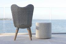 Garden Furniture / Furniture ideas for gardens, decks, balconies and verandahs.