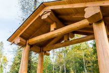 Special Projects (Artisan) / Unique Full Scribe log homes, Timber Frame and Post & Beam projects built by Artisan Log Homes