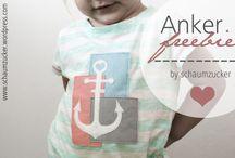 Anker-Freebie - schaumzucker / Anker Freebie - Plotterdatei for free von schaumzucker