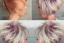 Sassy stylish hairstyles / Tones, Colours, Highlights, Short,