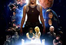 BATTLESTAR GALACTICA / Battlestar Galactica (1978) /  Battlestar Galactica  TV Series (1978–1979)  /  Battlestar Galactica:  Razor (2007) /  Battlestar Galactica: The Plan (2009) /  Battlestar Galactica  TV Mini-Series (2003)   /  Battlestar Galactica  TV Series (2004–2009)  /  Battlestar Galactica: The Resistance TV Mini-Series (2006)  /  Battlestar Galactica: Blood & Chrome (2012)