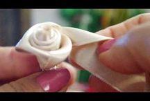 come fare le roselline di stoffa