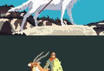 Anime Pixel Art