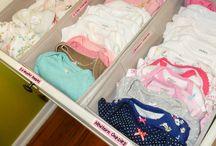 Organização quarto do bebe