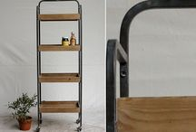 great idea for antique crates