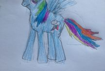 My little ponies!  / My drawing!