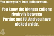 You know you are from Indiana when... / by Becky Teeple