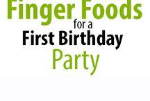 Erin's 1st birthday
