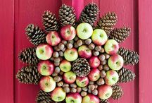 Apples at the Holidays / Not only are apples great for holiday cooking and baking, they make naturally pretty decorative elements.