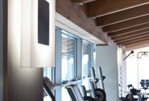 Fitness centers and SPA