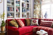 Red Sofa!!