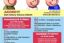 Letní festival 2017 / Pohádkové středy, hudební čtvrtky a také 1. a 2. 9.  letní kino v Akordu!